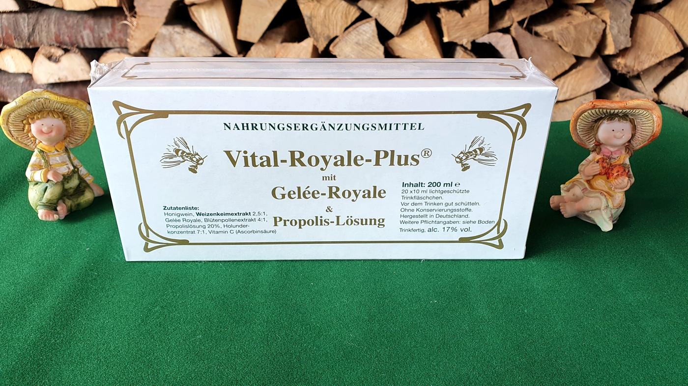 Vital-Royale-plus mit Gelée Royale - Jahreskur