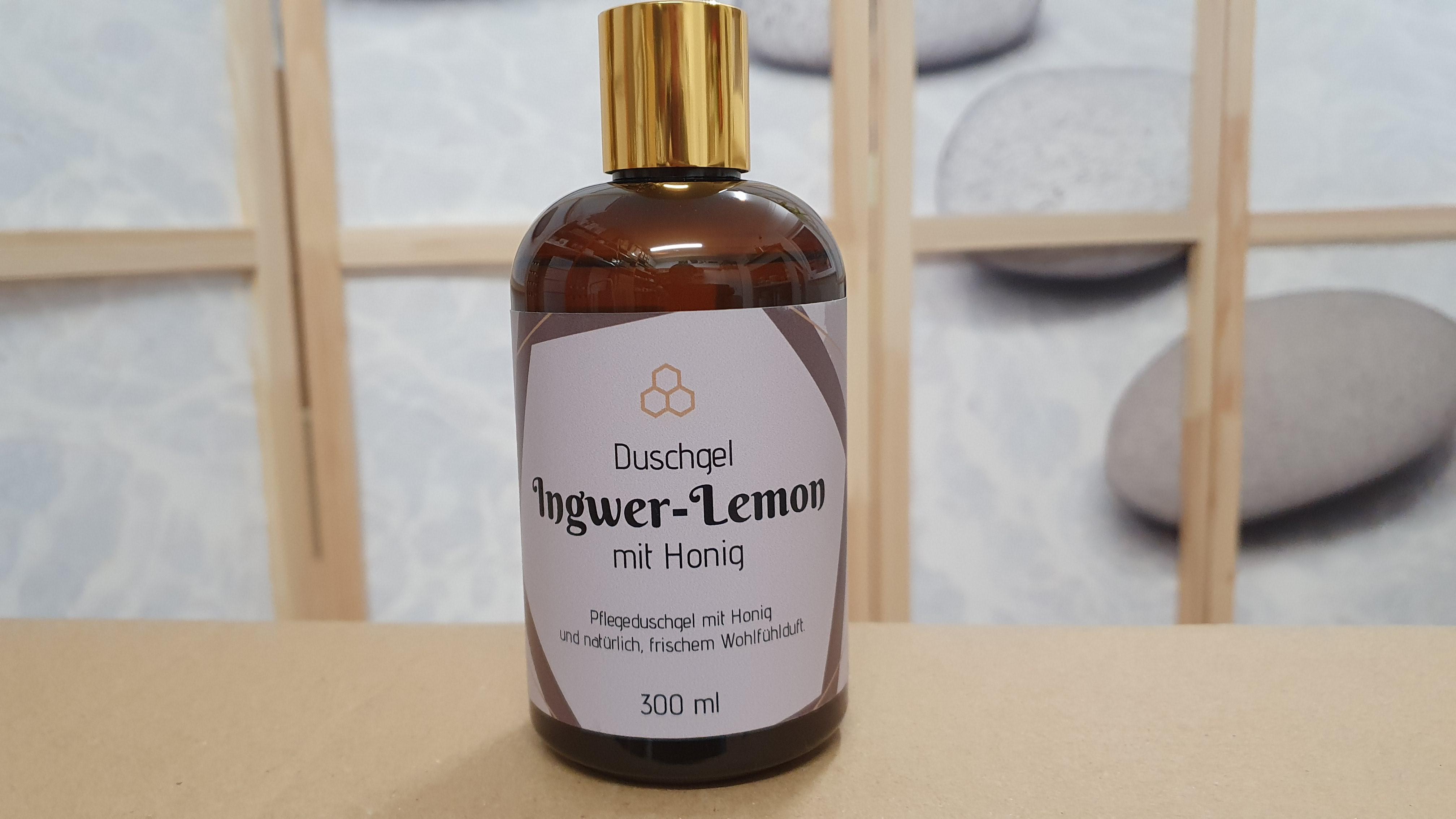 Ingwer Lemon Honig Duschgel