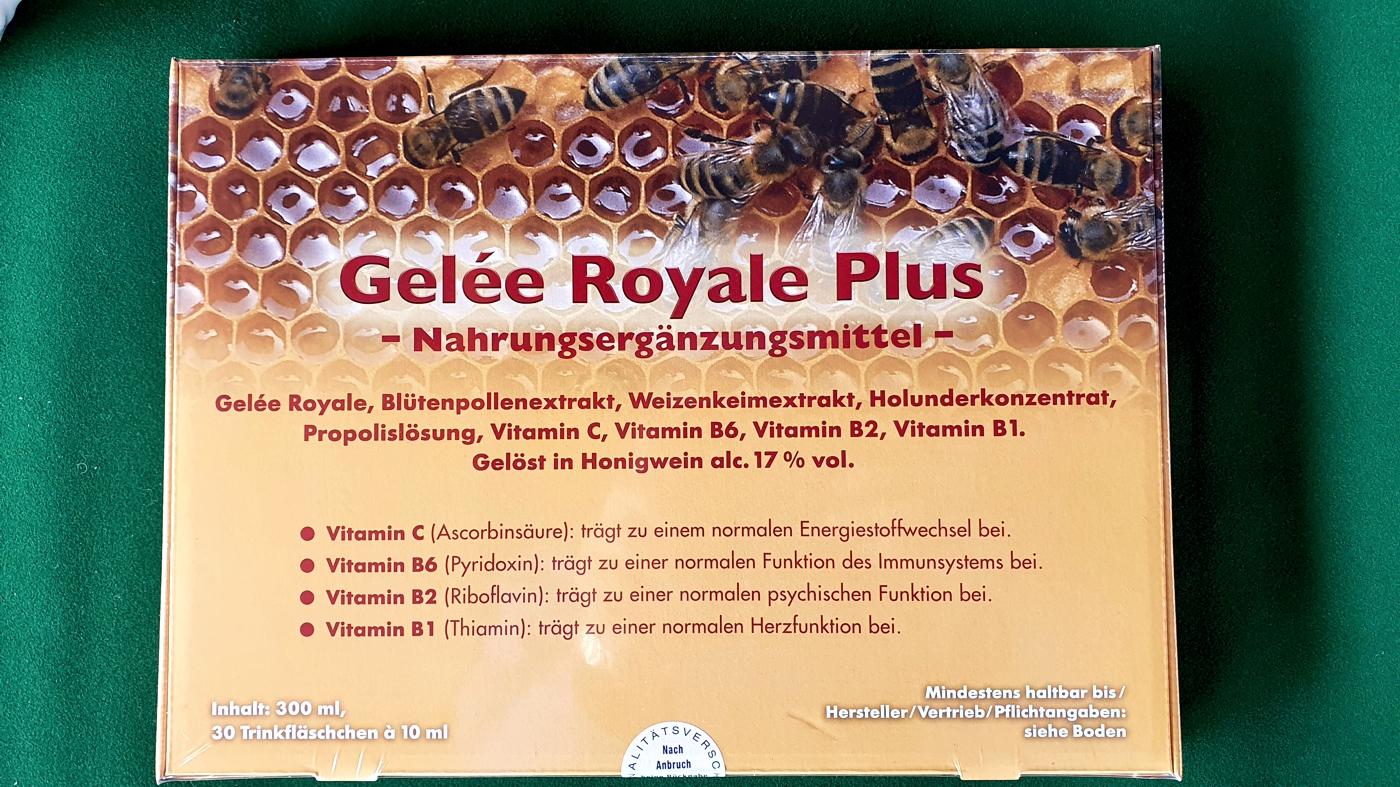 Gelée Royale Plus - Jahreskur