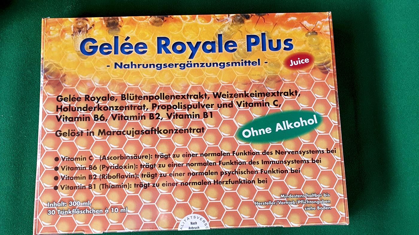 Gelée Royale Plus - Jahreskur ohne Alkohol